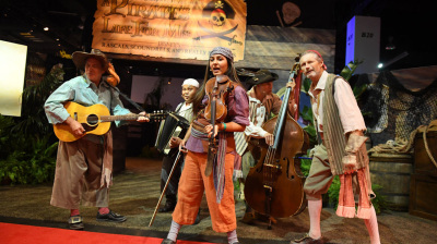 A Look Inside the 'A Pirates Life for Me: Disney's Rascals, Scoundrels, Really Bad Eggs' Exhibit at