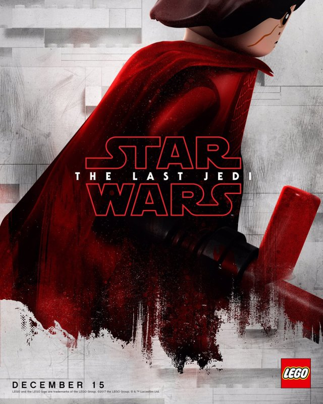 New 'Star Wars The Last Jedi' Posters Lego Versions