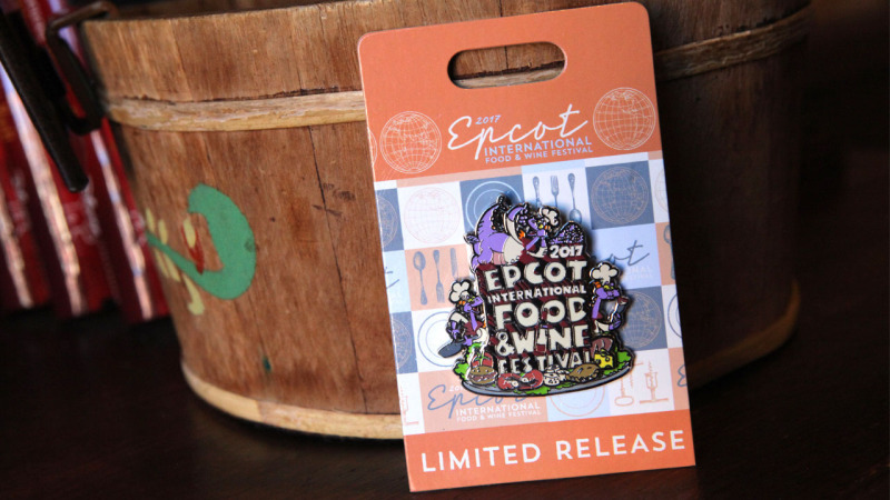 New Merchandise for 22nd Epcot International Food & Wine Festival