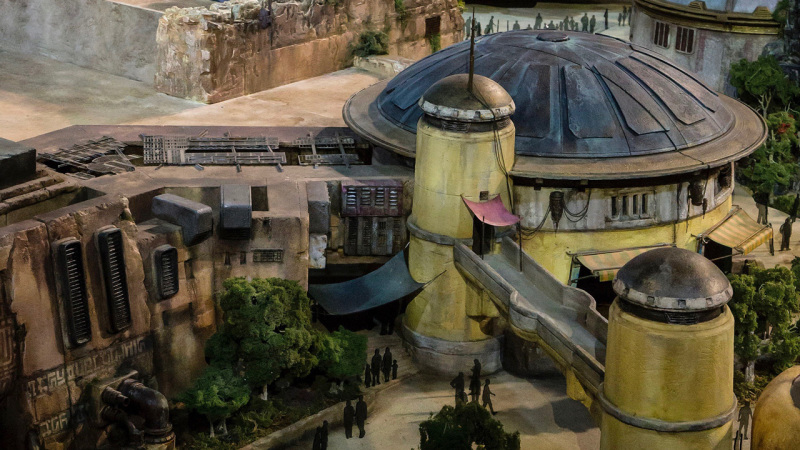 Models of Star Wars: Galaxy's Edge & Toy Story Land to be on Display Soon at Disney's Hollywood Stud