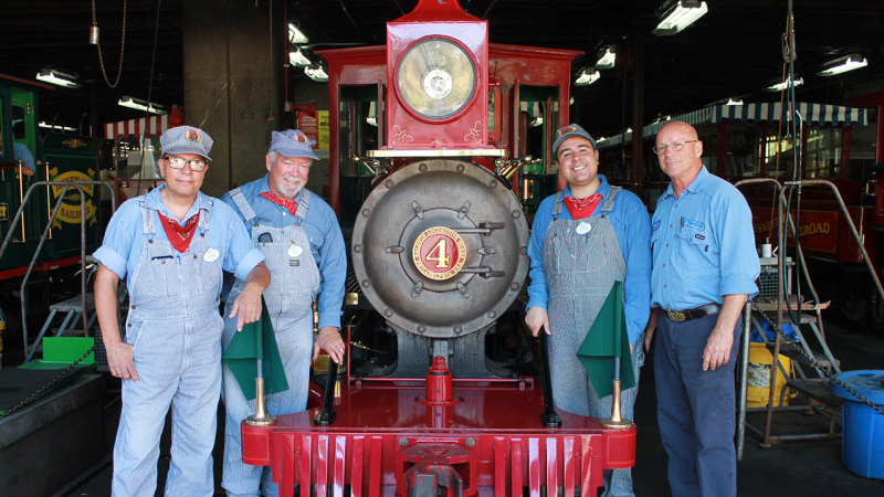 Disneyland Railroad Engineers Share Excitement for Return of Classic Attraction