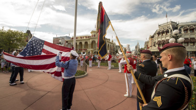 Elite U.S. Army 82nd Airborne Division Honored at Walt Disney World