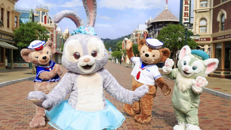 StellaLou Dances Her Way to Hong Kong Disneyland