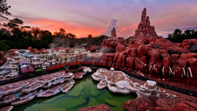 Take A One-Minute Trip Through Five Disney Mountains