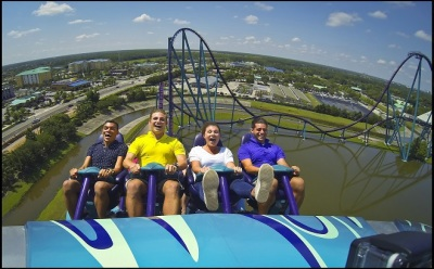 National Roller Coaster Day at SeaWorld Orlando