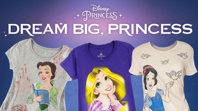 New Princess Merchandise at Walt Disney World