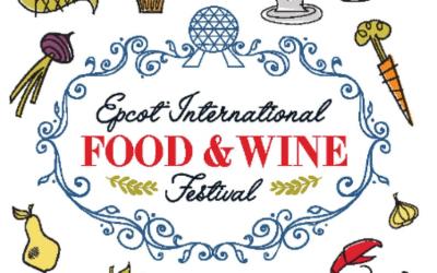 Epcot International Food & Wine Festival Guide Map
