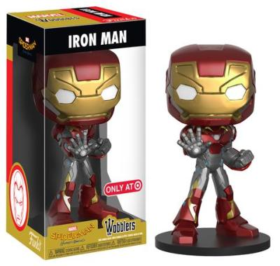 Target Exclusive Iron Man, Batman, & Batgirl Wobblers!