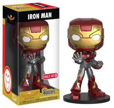 Target Exclusive Iron Man, Batman, & Batgirl Wobblers!