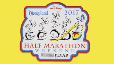 Celebrating Pixar with Commemorative Merchandise for the Disneyland Half Marathon Weekend 2017