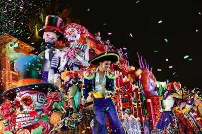 Universal's Mardi Gras returns every night Feb. 4th - Apr. 7th, 2018