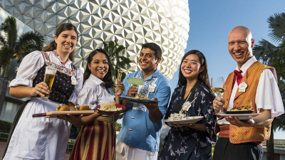 6 Don't-Miss Experiences Opening Weekend at 22nd Annual Epcot International Food & Wine Festival