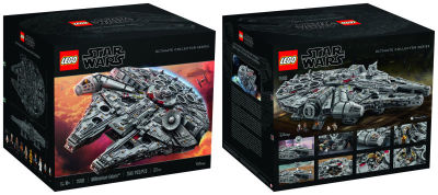 The Largest LEGO set Ever Created - Millennium Falcon Ultimate Collectors Series