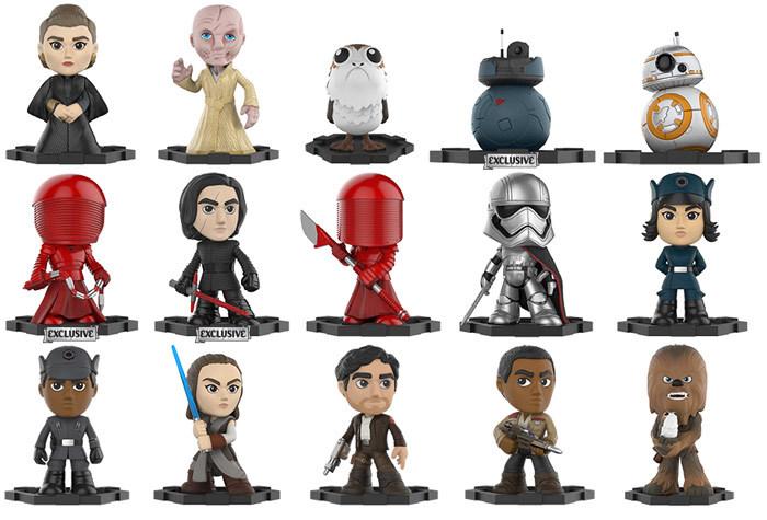 Star Wars - The Last Jedi! Funko Merchandise