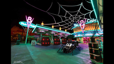 Cars Land and Buena Vista Street to Get Spooky for Halloween Time