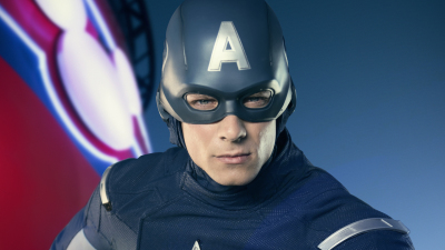 Meet the Super Heroes of Marvel Day at Sea: Captain America