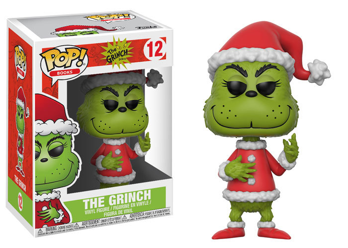 Dr. Seuss How the Grinch Stole Christmas Dorbz Ridez, & Pop!s