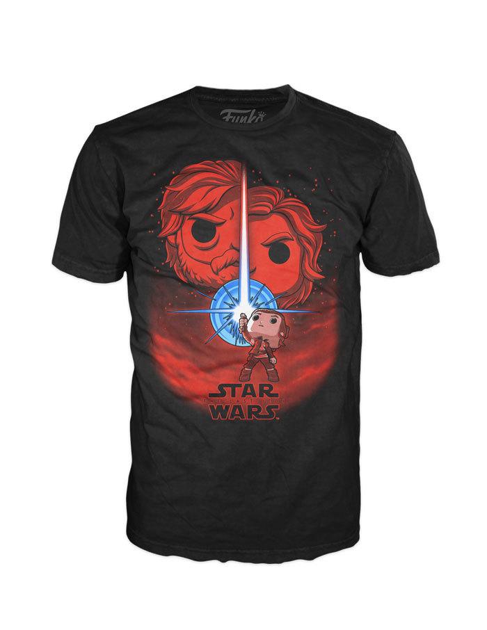 Star Wars - The Last Jedi Pop! Tees!