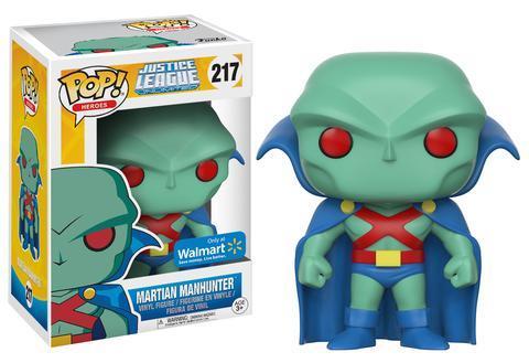Martian Manhunter Walmart Pop! Exclusive!