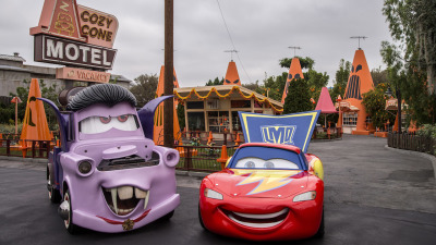 'Cars' Characters in Car-stume for Haul-O-Ween During Halloween Time