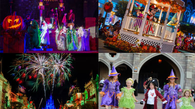 Top Five Moments at Mickey's Not-So-Scary Halloween Party