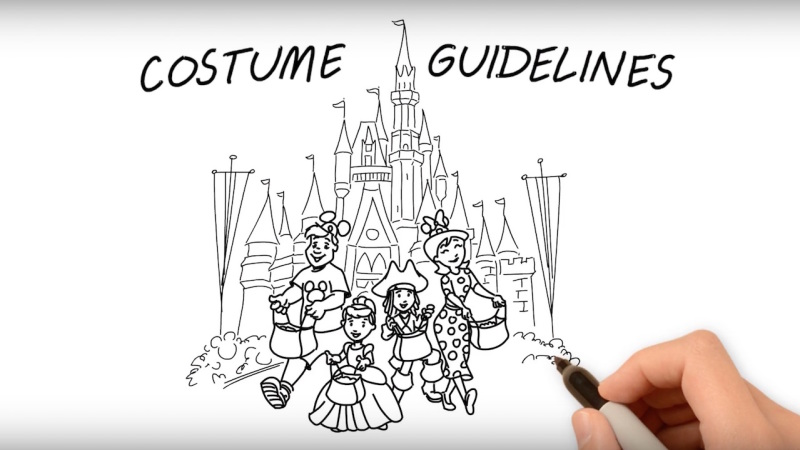 Costume Guidelines for Mickey's Not-So-Scary Halloween Party