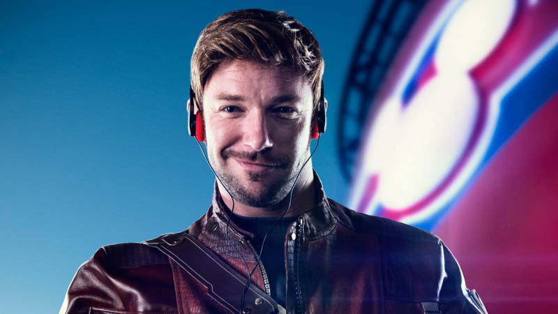 Meet the Super Heroes of Marvel Day at Sea: Star-Lord