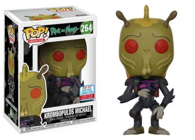 NYCC 2017 Exclusive: Rick & Morty's Krombopolous Michael Pop!