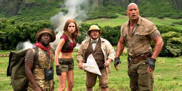 New Jumanji Trailer #2 and Photo from Sony