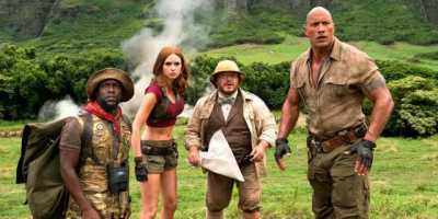 New Jumanji Trailer #2 and Photo from Sony
