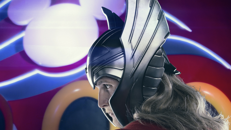 Meet the Super Heroes of Marvel Day at Sea: Thor