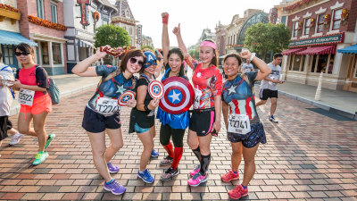 10,000 Sign Up For Hong Kong Disneyland's Marvel 10K Weekend