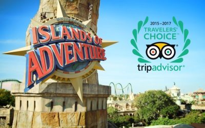Universal's Islands of Adventure wins Travelers' Choice Award for Best Theme Park