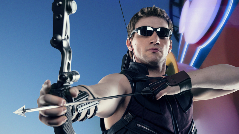 Meet the Super Heroes of Marvel Day at Sea: Hawkeye