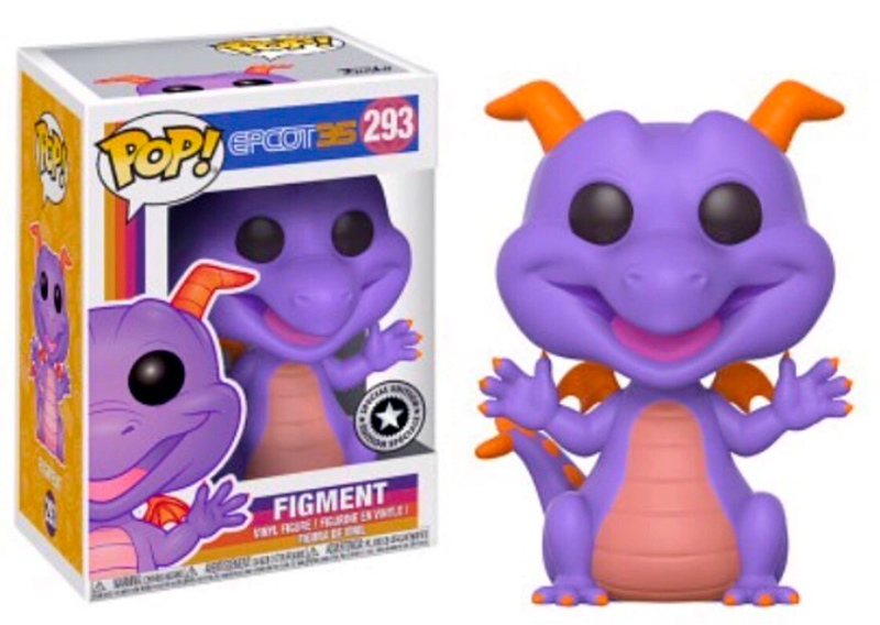Figment Pop! available at Epcot 35 Anniversary October 1st.