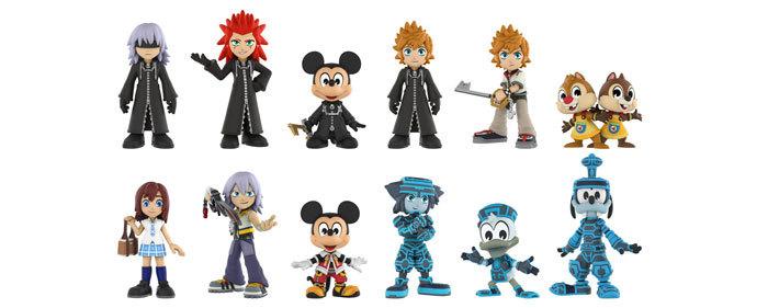 Kingdom Hearts Mystery Minis, & Series 2 Pop!s