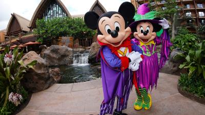 Halloween Festivities at Aulani, a Disney Resort & Spa