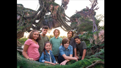 AVATAR Next Generation Cast Soak Up the Scenery on Pandora – The World of Avatar