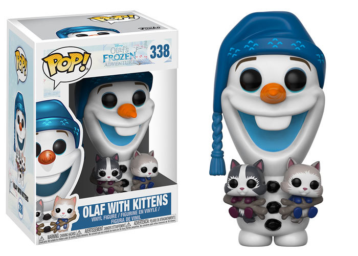 Olaf with Kittens Pop! Coming Soon
