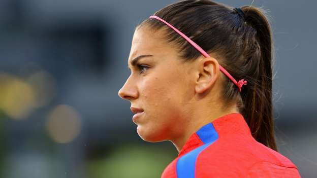 Alex Morgan says sorry after getting booted from Disney World