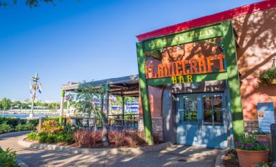 Fall Brews at Flamecraft Bar SeaWorld Orlando