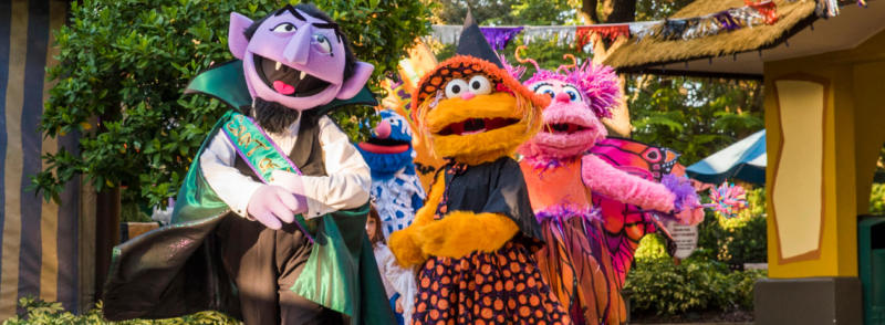 Sesame Street Kids Weekends at Busch Gardens Tampa Starts this Weekend