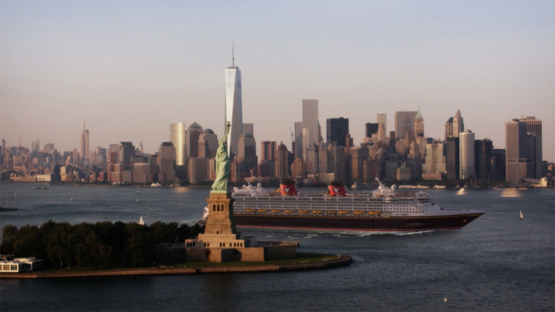First Marvel Day at Sea Cruise Sets Sail from New York City