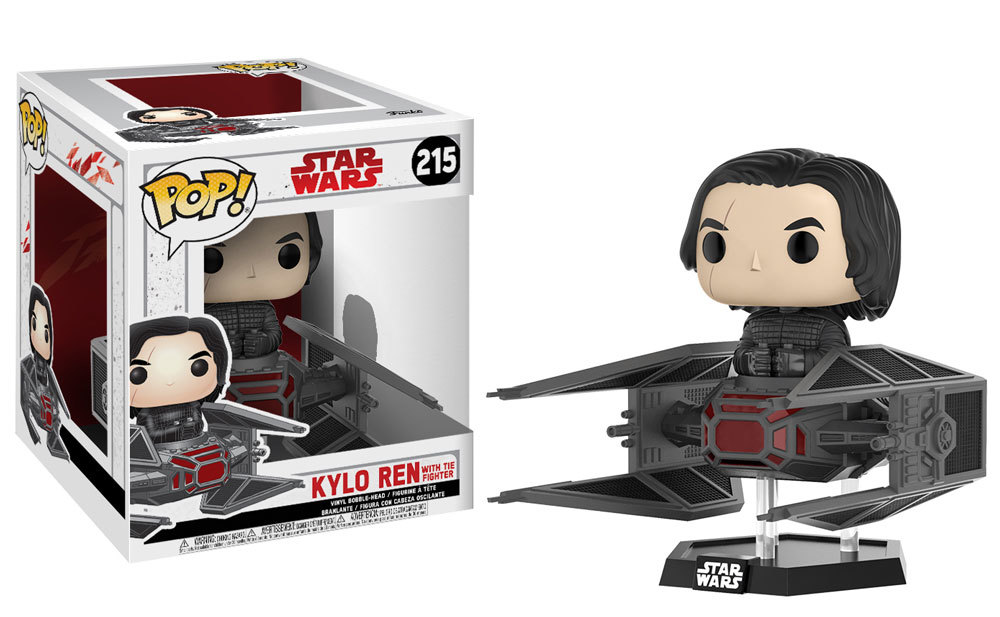 Coming Soon: Pop! Deluxe: Star Wars: The Last Jedi - Kylo in TIE Fighter