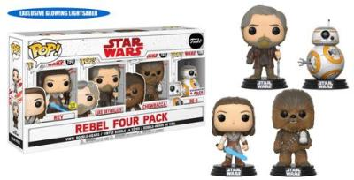 Costco Exclusive The Last Jedi Pop! 4-Packs Available Now