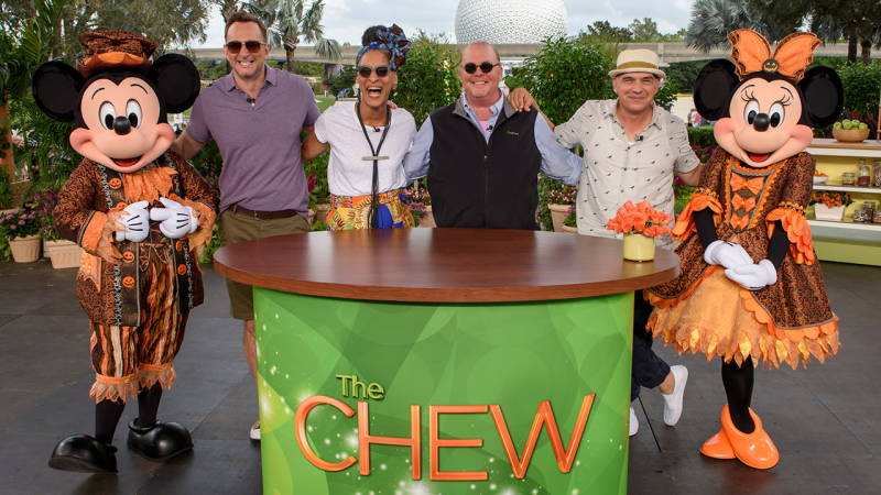 Watch ABC's 'The Chew' recorded last week at the Epcot International Food & Wine Festival
