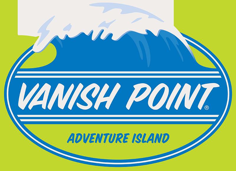 Vanish Point Adventure Island's New 70 foot Drop Slide