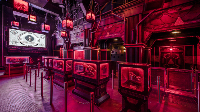 Mysterious Transmissions Signal Trouble in The Collector's Fortress at Disney California Adventure