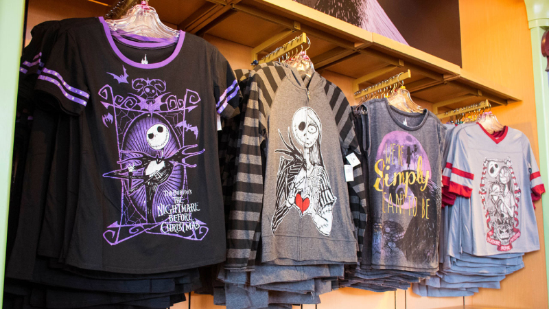 New Merchandise from 'Tim Burton's The Nightmare Before Christmas' at Disney Parks