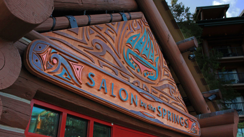 Salon by the Springs Now Open at Disney's Wilderness Lodge